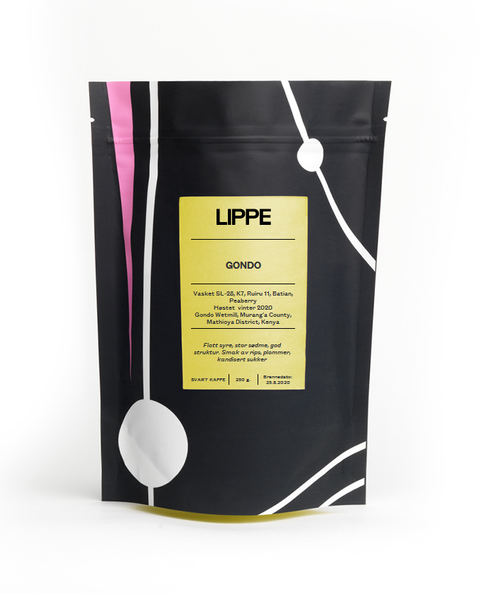Ny lysbrent kaffe fra Kenya
